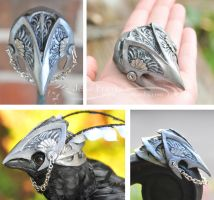 Bird of Paradise Helmet by mooki003
