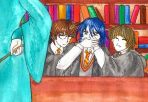 Library - be more quiet please by cyberhell