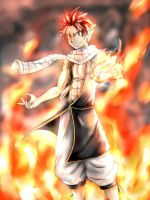 Natsu Dragneel by ionditol