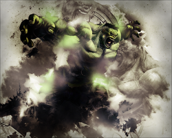 The Hulk by GiladAvny