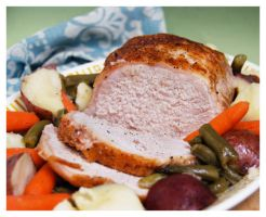Pork Roast and Vegetables I by cb-smizzle