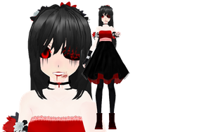 MMD - Lavender Town Syndrome Gijinka + Download by KyoshiShion