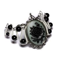 Steamgoth Rose Bracelet by CatherinetteRings