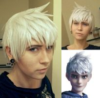 Updated Jack Frost wig by KadanaadCosplay