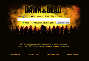 Dawn of the Dead Startpage by AwesomeStart
