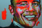 Barak Obama by Diriane
