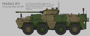 MA9A3 WMAV IFV Production Standard [Graphic] by SixthCircle