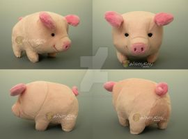 Bubu the Piggy by WhittyKitty