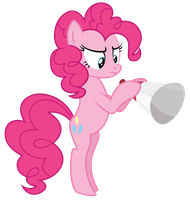 Pinkie Pie by Midnight--Blitz