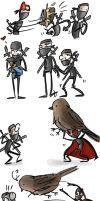 ninjawesomness, p.6 doodles by Ayej