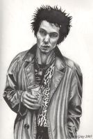 Sid Vicious by Skullkid