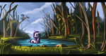 A gem within the forest by Auroriia