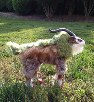 Pokemon Gogoat Posable OOAK Doll (ETSY SALE) by Self-Eff4cing