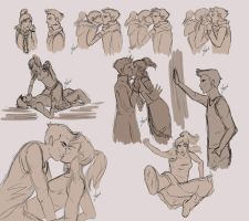 MaKorra Sketch Mess by jeminabox