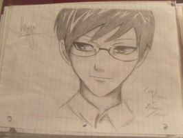 Kyoya by CrazyGrace200