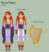 ToS - Anirna Reference Sheet by porcelian-doll