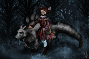 Little Red Riding Hood by wendystolyarov