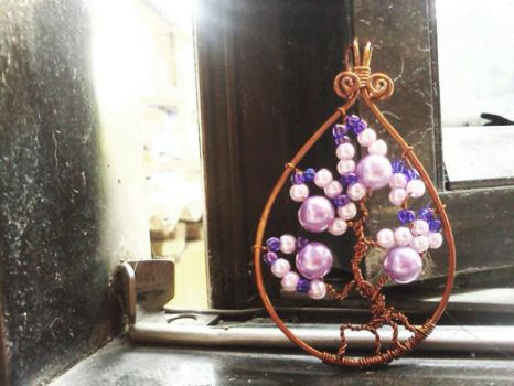 Lotto tree of life - purple by CovenEye