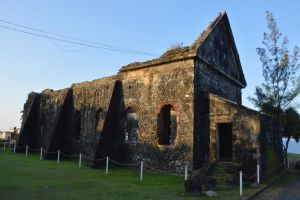 Ruins of church destroyed by hurricane 2 by A1Z2E3R
