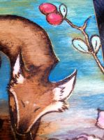 Time Travelling Fox Close Up by blacher