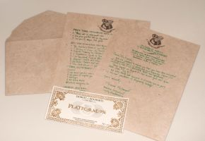 Hogwarts Letter by fit51391