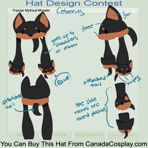 Cerberus hat Design
