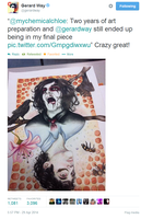 Gerard Way 'Crazy Great!' by onlyhopeformeismcr