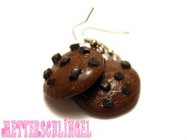 Cookie Earrings 2 by Metterschlingel
