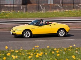 Alfa Romeo Spider Convertable by DundeePhotographics