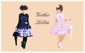 gothic lolita wallpaper 6 by guillaumes2