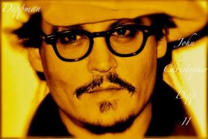 Johnny Depp in my heart by Depporgeus