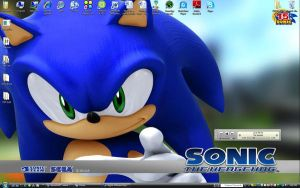 Sonic Desktop by Master-Ziggy