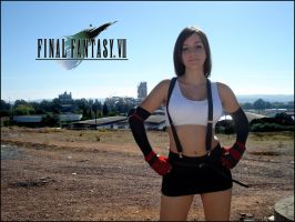 Cosplay Tifa Final Fantasy VII by Val-Raiseth