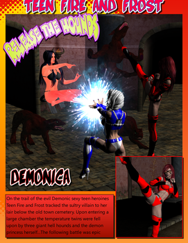 Release the Hounds Comix Page 1 by TheBadLieutenant