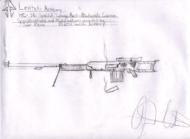 HC-36 Special Infantry Anti-Materials Cannon by TheRussianFox