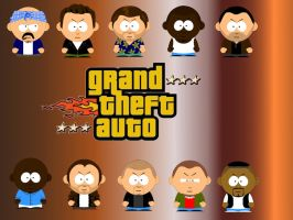 Grand Theft Auto South Park by Kakalot