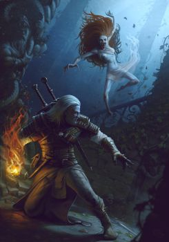 The Witcher by MaxDonio