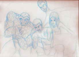 Fantastic Four WIP by schris91