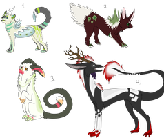 Free Creature Adopts! -ENDED- by SummerAdopts