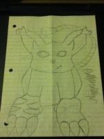 Start of Gatomon from digimon by XanderCakes