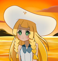 Sunset Lillie by mgcoco