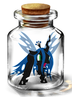 Bottled Up: Queen Chrysalis by Songbreeze741