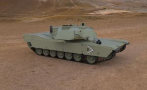 M1A2ABRAMS MAIN BATLLE TANK by icryonic