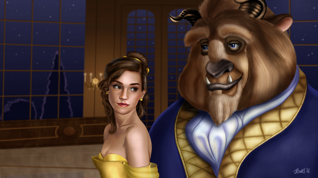 Beauty and the Beast by Britsie1