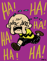 Charlie Brown Crying by gaudog