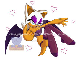 C'mon Baby :Rouge The Bat: by amyrose7