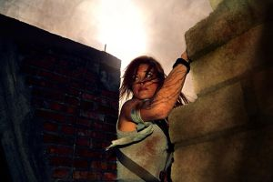 TOMB RAIDER Lara Croft cosplay 2013 '' alone'' by konradM96