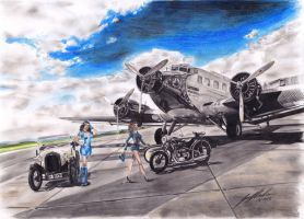 Planes, Cars, Bikes 'n' PinUps - CM by Lowrider-Girl