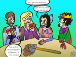 30 Day OTP Challenge 9- Hanging Out With Friends by AngelAndChangeling