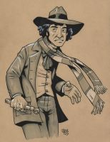 The 4th Doctor by Steevcomix